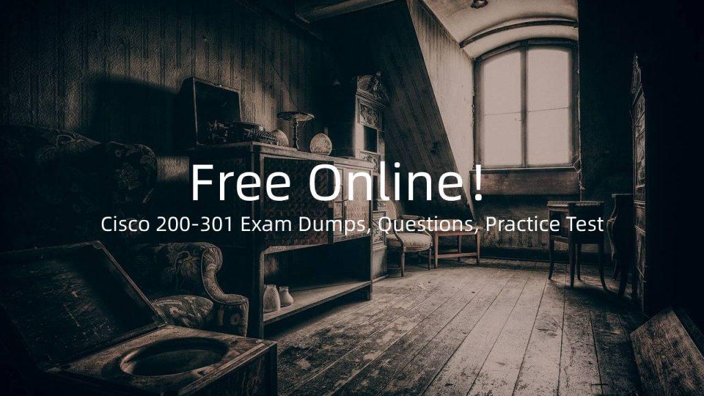 200-301 Exam Dumps Questions Practice Test